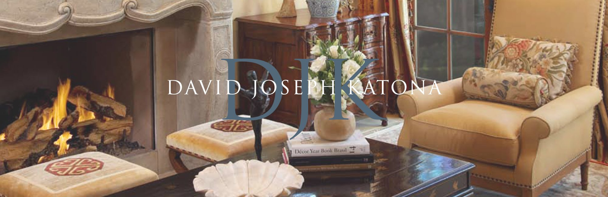 David Joseph Katona Interior Design Banner