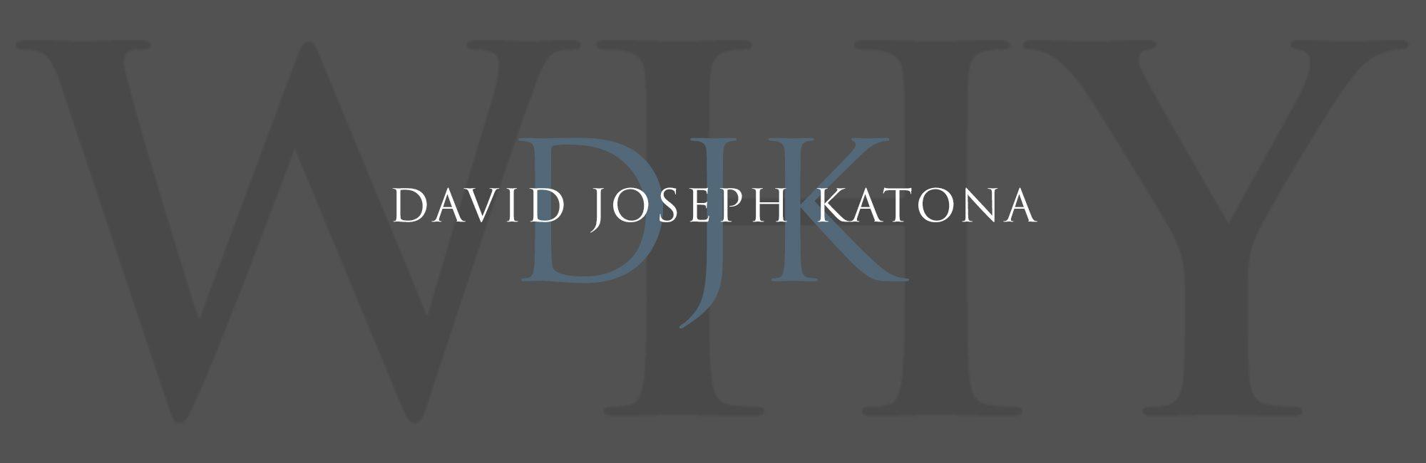 David Joseph Katona Interior Design Banner
